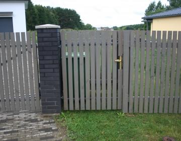 Eramu värav prugikonteinerile